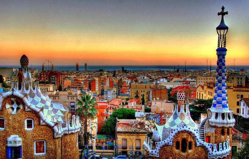 Cali4travel- park güell - Spain Tour