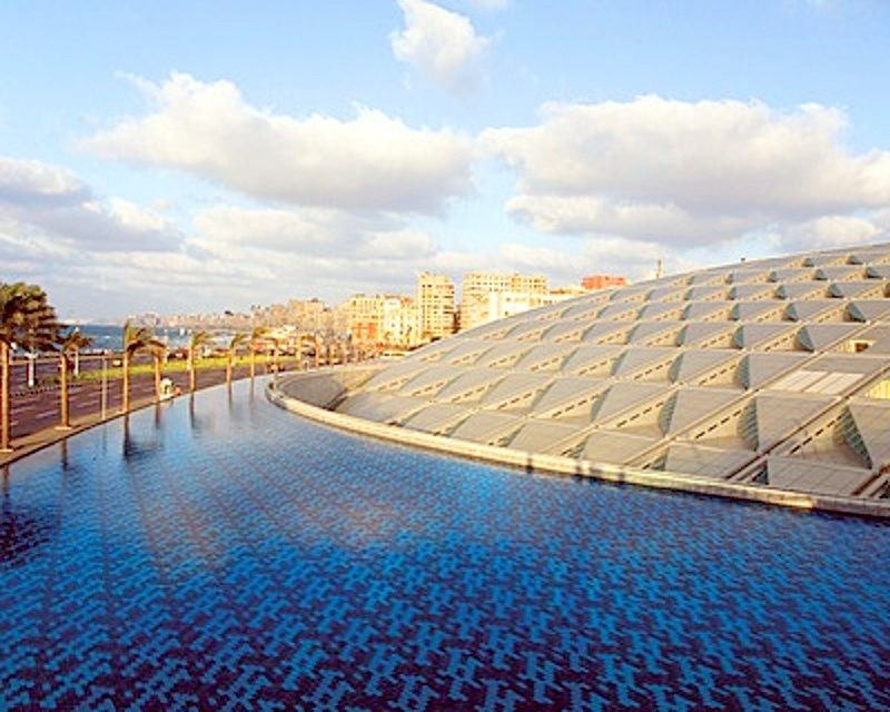 Cali4travel-Egypt Day Tour-bibliotheca alexandrina