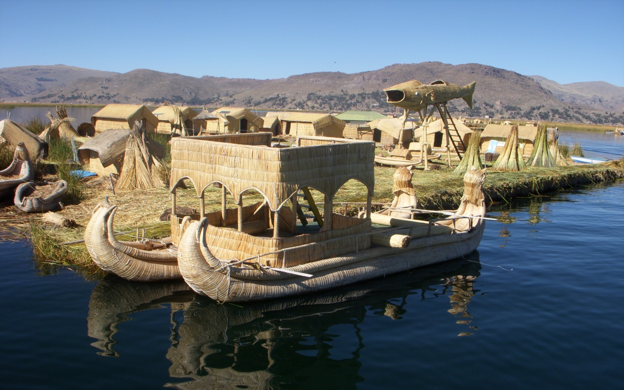 Cali4Travel - floating islands peru