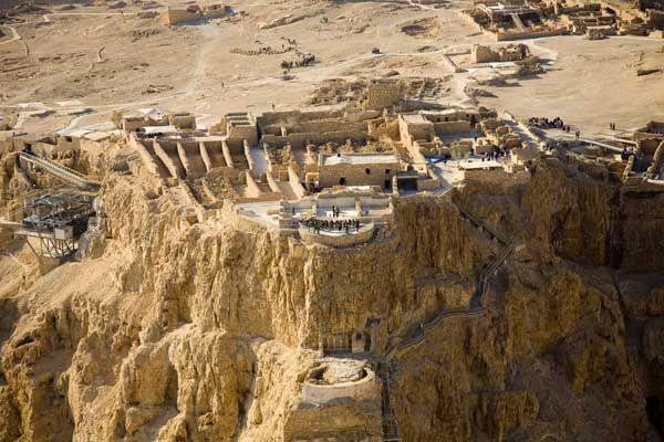 Cali4travel - palacio de herodes masada