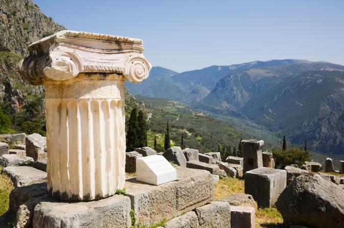 Cali4travel - temple of apollo at delphi