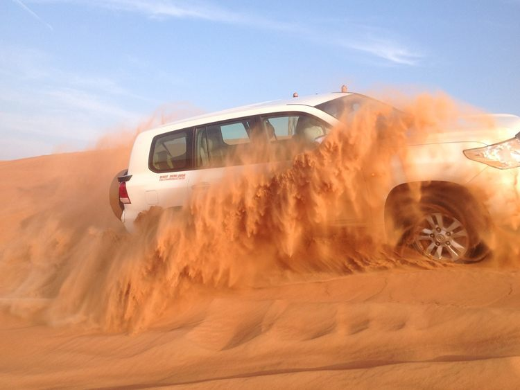 Cali4Travel - Dubai - desert safari